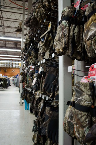 Camouflage Gloves at Smith and Edwards