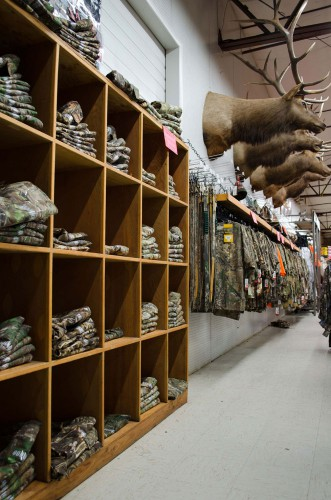 Hunting camouflage at Smith and Edwards