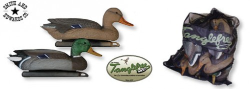 Tanglefree Mallard Duck Decoys and Bag at Smith and Edwards