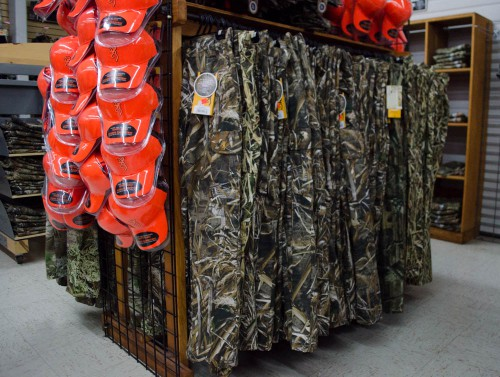 Duck hunting camo pants