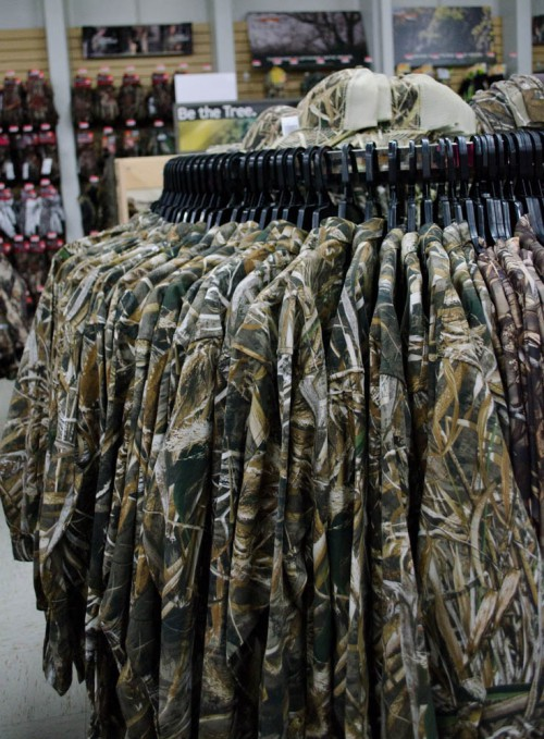 Waterfowl camo shirts