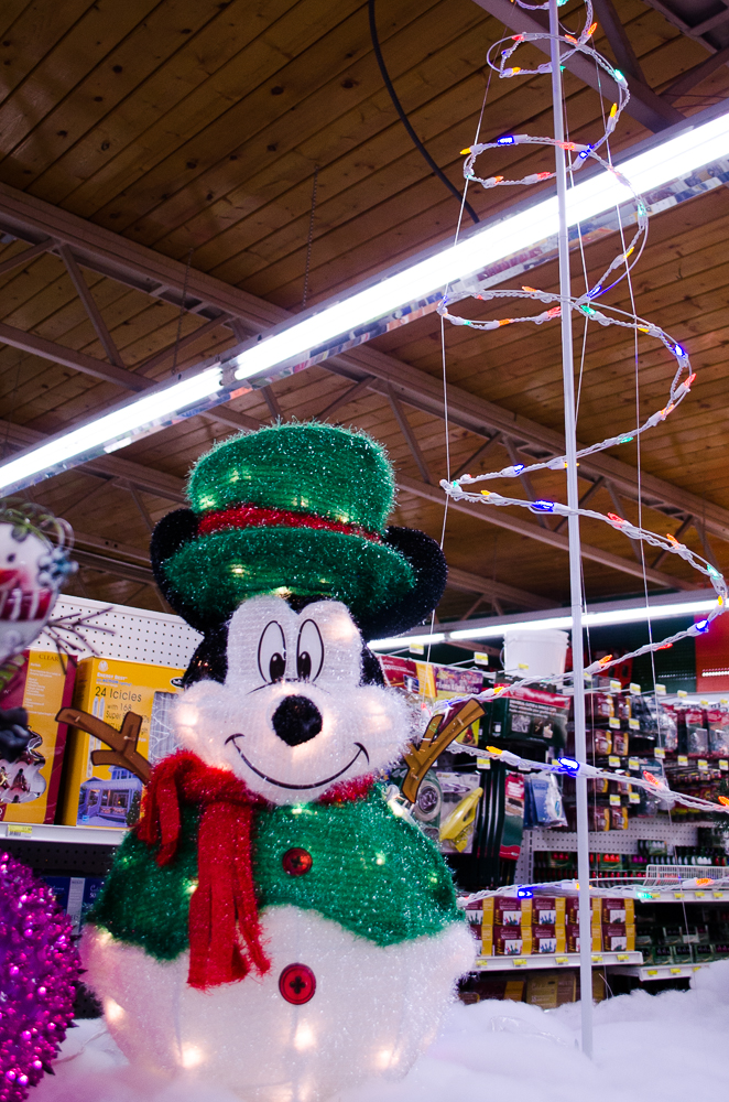 Mickey Mouse Christmas Decoration - Smith and Edwards