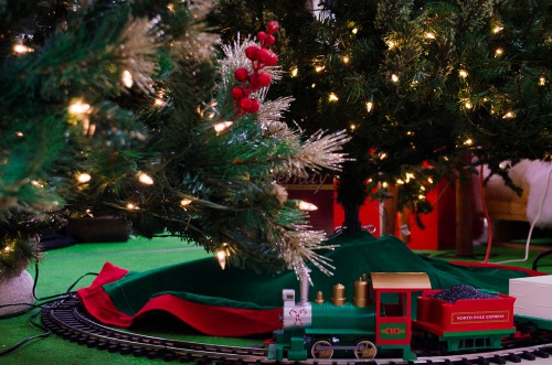 Train set for Christmas - Smith and Edwards