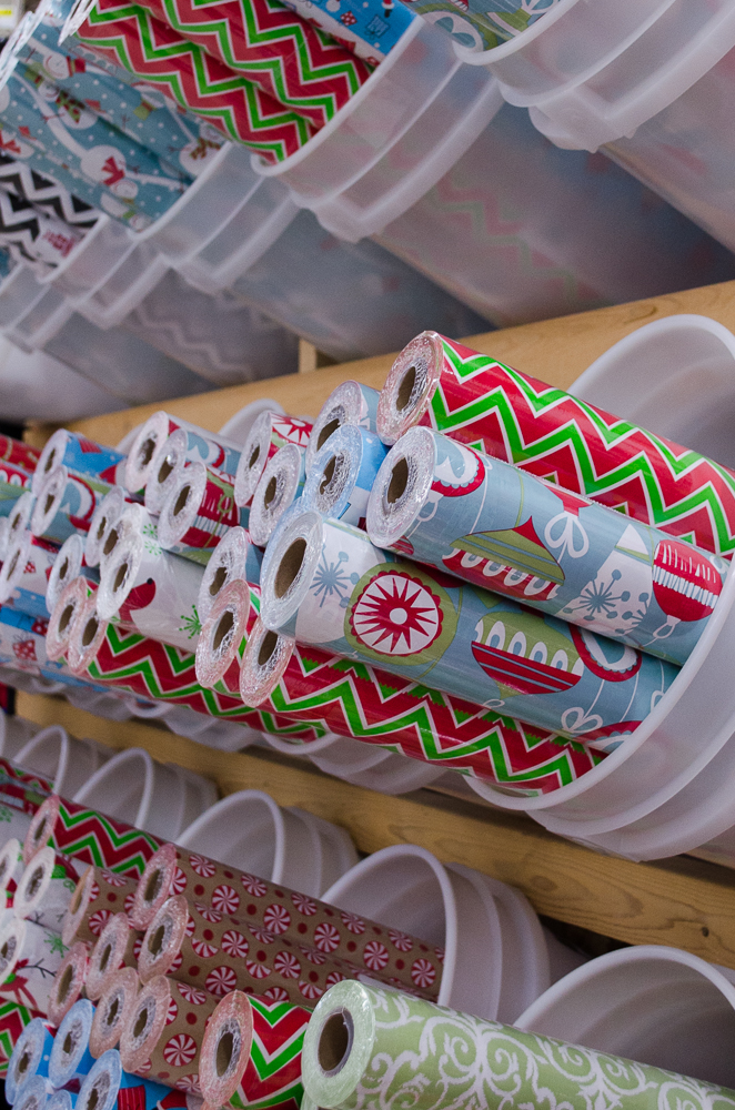 Christmas wrapping paper made by Layton, Utah company All Wrapped Up - Smith and Edwards