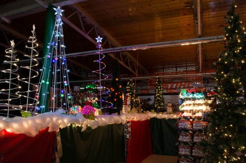 Light up your yard with Christmas trees and more - Smith and Edwards