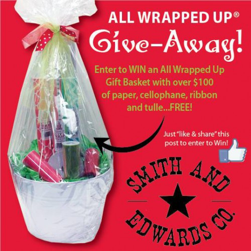 All Wrapped Up Gift Wrap Giveaway Smith & Edwards