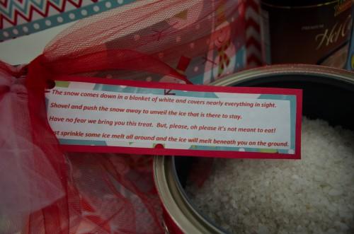 Ice Melt Poem - Gift Wrap Ideas at Smith & Edwards