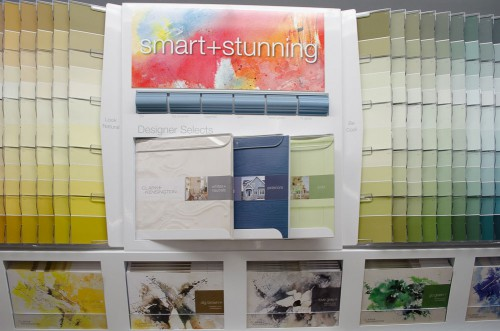 Clark and Kensington paint palettes at Smith and Edwards