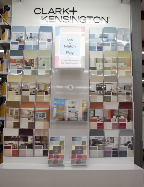 "Perfect ""mood"" palettes from Clark and Kensington at Smith & Edwards"