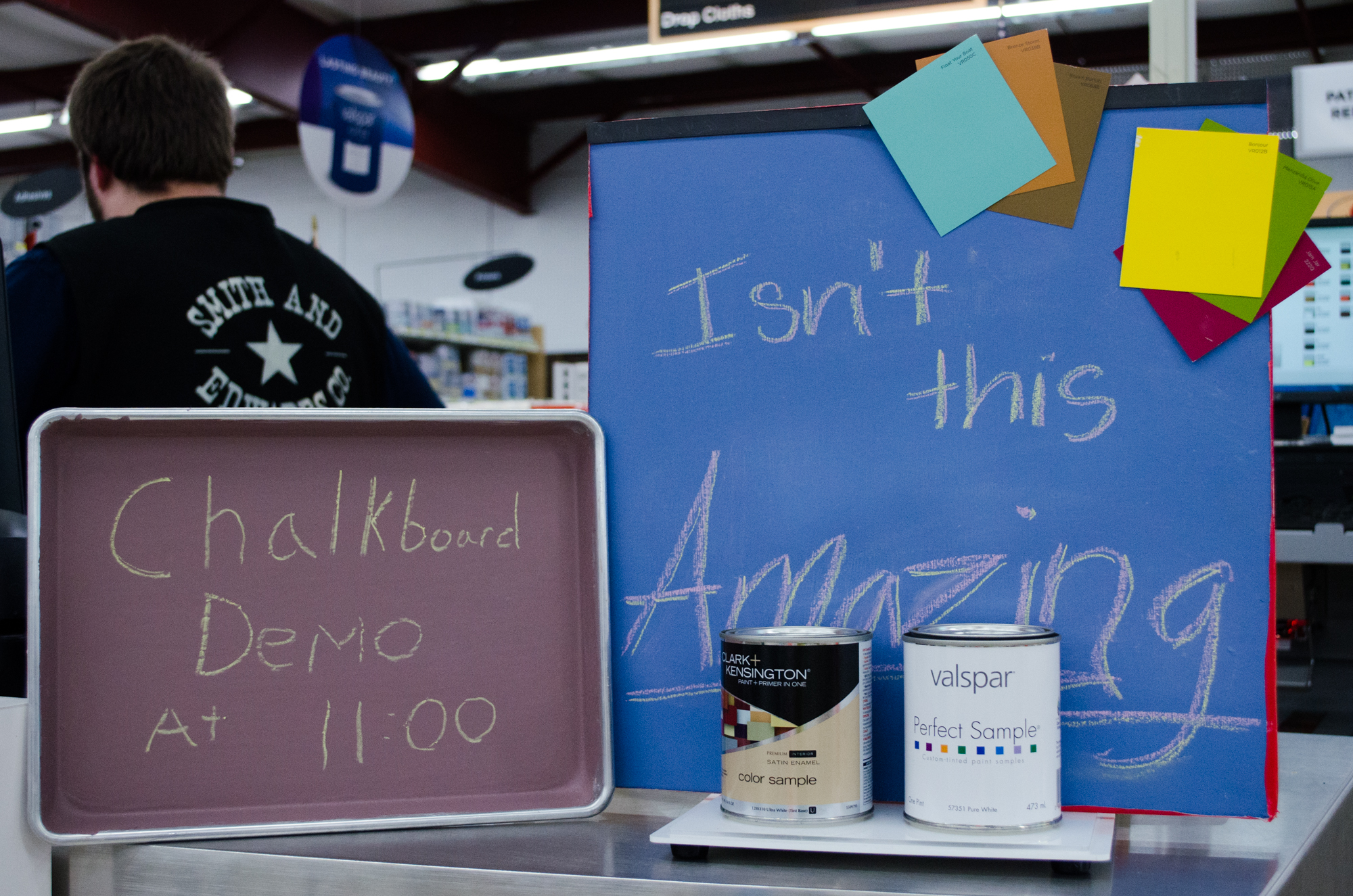 8 Fun Chalkboard Paint Ideas - Two-Tone, Shapes, Parties, & more!