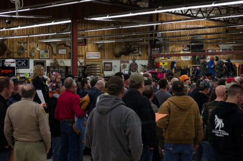 The Smith & Edwards Gun Auction is a fun time for the whole family