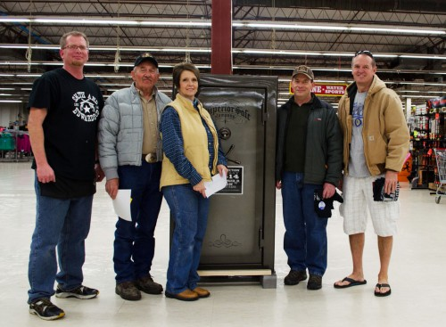Jackie Allred, 2014 Smith and Edwards Gun Safe Winner