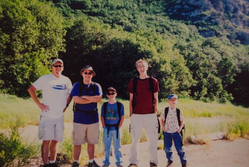 Hiking with the kids - Mike Vause, Smith and Edwards