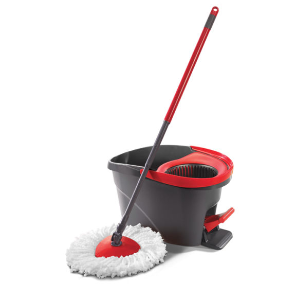 Mopping Made Fun Easywring Spin Mop Demo Smith And