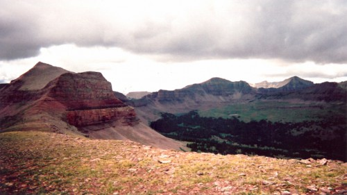 View from the Uinta Mountains - Mike Vause, Smith and Edwards