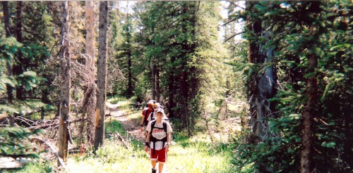 My kids hiking a trail - Mike Vause, Smith and Edwards