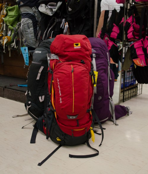 Hiking packs by Jansport, Mountainsmith, and Kelty at Smith and Edwards