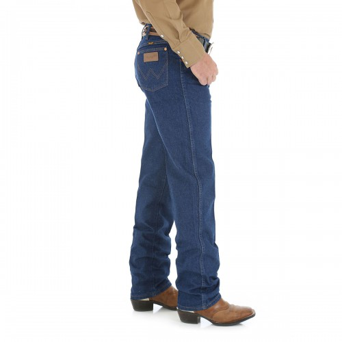 Regular Fit Wrangler Original Cowboy Cut Jeans - 13MWZ
