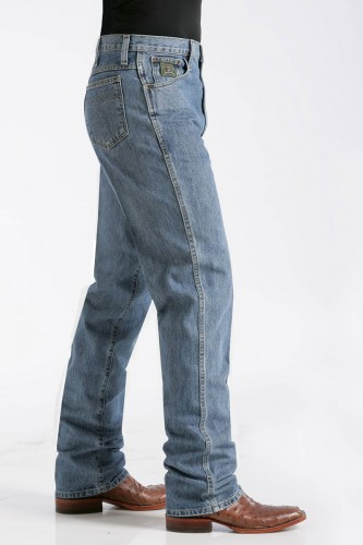Cinch Men's Green Label natural rise jeans - MB9053