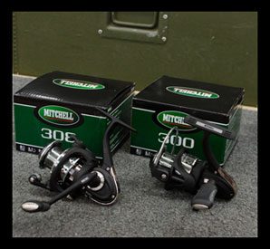 Mitchell 300 and 308 Reels