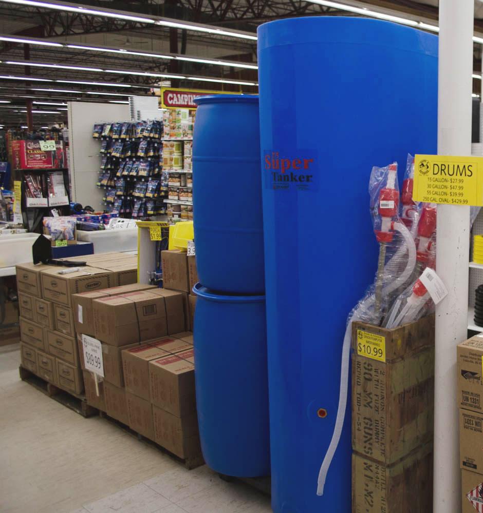 Water Storage Drums at Smith u0026 Edwards & Key Water Storage Containers u0026 Tips - Smith and Edwards Blog