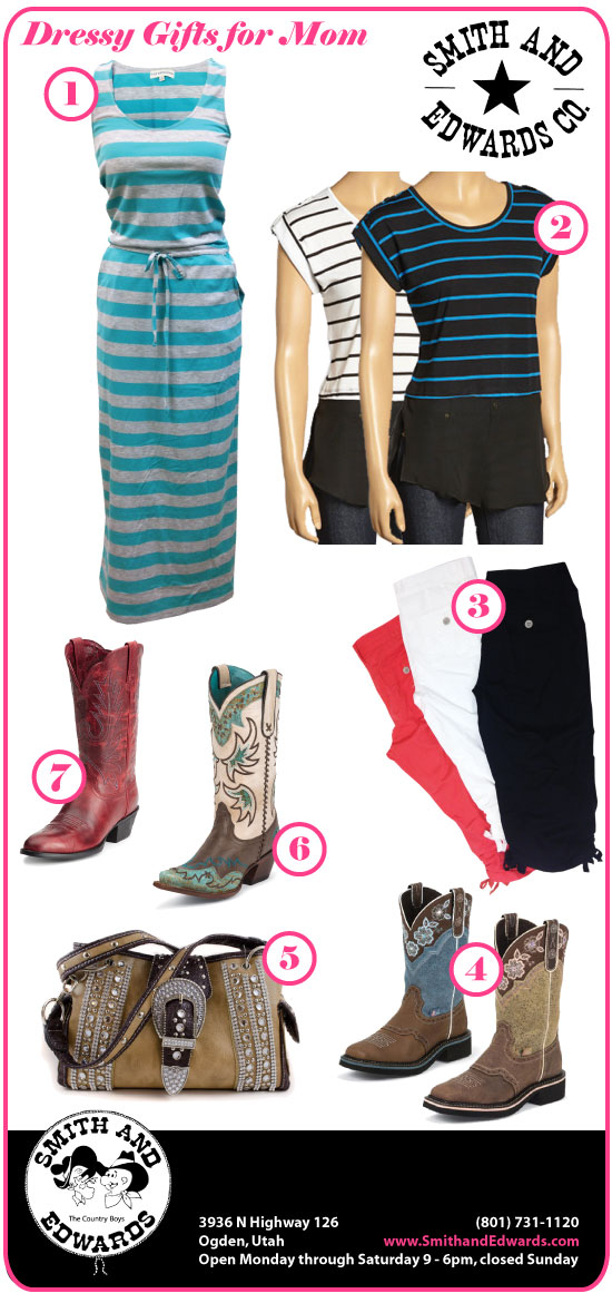 Dressy Gift Ideas for Mom at Smith & Edwards