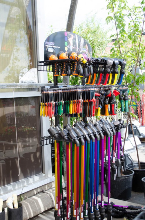 Gardening and Watering tools in every color