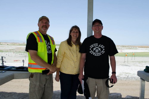 Mayor Karen Cronin at Range Day 2014 in Perry, Utah