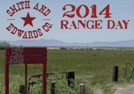 Smith and Edwards Range Day 2014 at the Three Mile Creek Range in Perry, Utah
