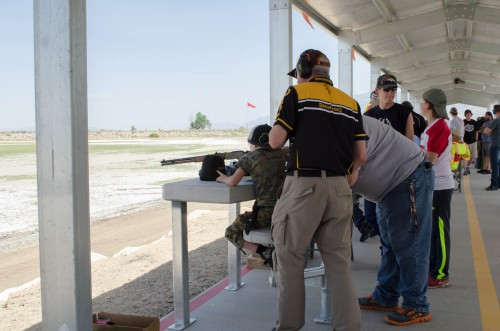 Browning at Smith and Edwards Range Day