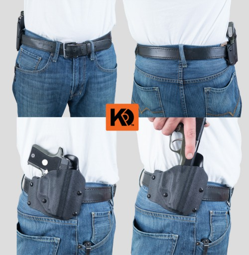 OWB (outside the waistband) Kydex holster by K Rounds