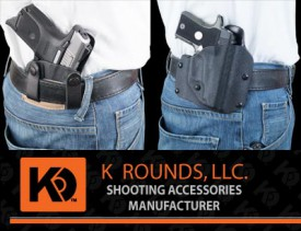 K Rounds makes both IWB and OWB holsters from Kydex