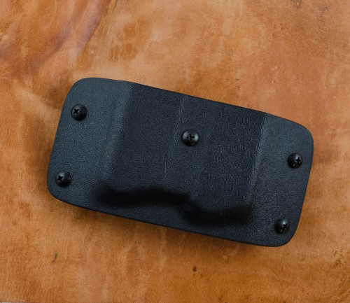 K Rounds Kydex 1911 Double Mag Holster