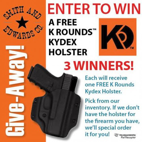 Enter to win a FREE Kydex Holster from K Rounds!