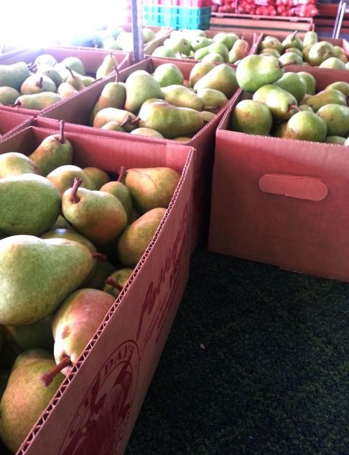 Pears at Pettingills