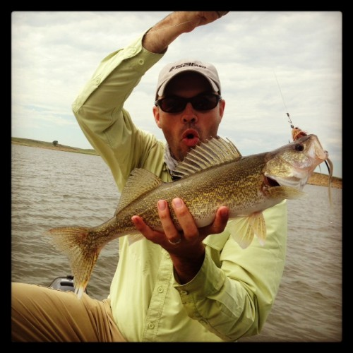 Walleye on a Fly Rod - Jake Gertsch