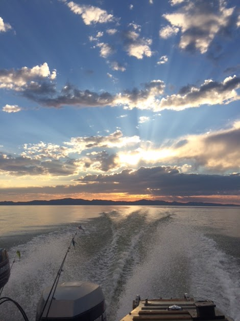 Willard Bay Sunset