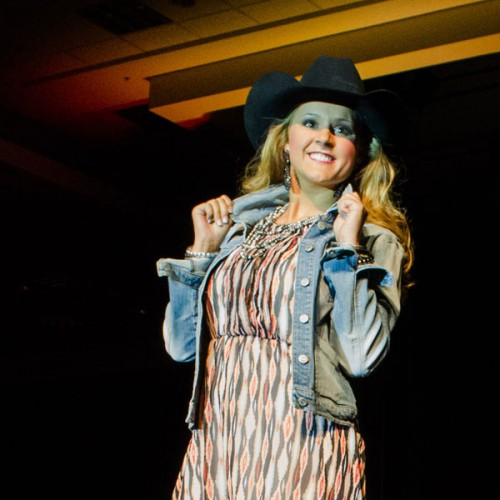 Bailey Jo Woolsey at Miss Rodeo Utah 2014