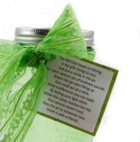 Mason Jar good deed poem