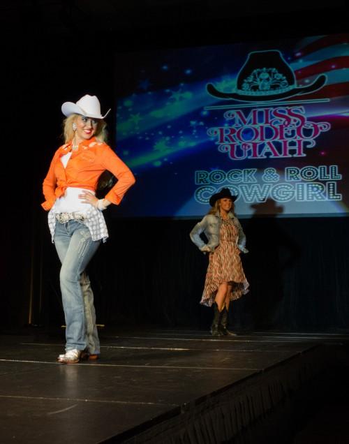 Stephanie Jimerson at Miss Rodeo Utah 2014