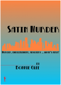 Satin Murder by Bonnie Glee Utah author
