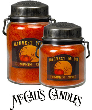 McCall's Pumpkin Spice Candles