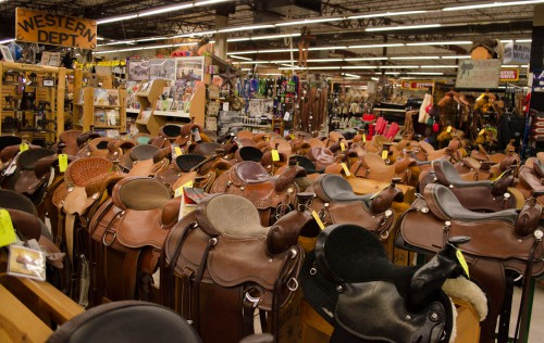 Saddles at Smith and Edwards