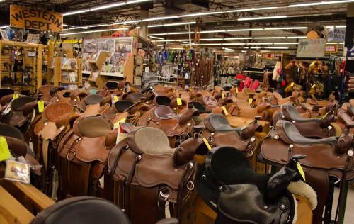 Saddles at Smith and Edwards