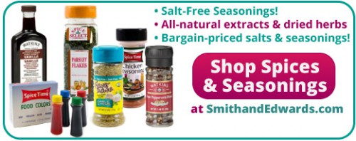 Spices and Herbs at SmithandEdwards.com