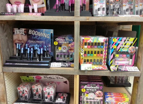 Smith and Edwards' Makeup and Fingernail Polish Sets