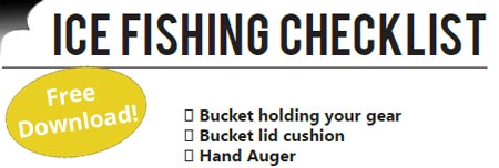 Ice Fishing Checklist Download