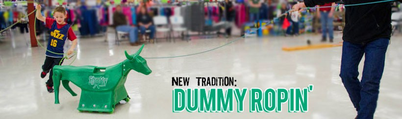 Dummy Ropin, a new tradition at Smith & Edwards!