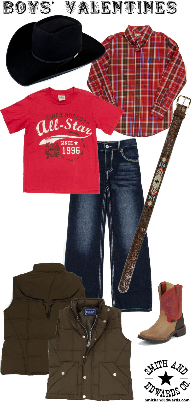 Pick out a Valentine's outfit for your son or nephew with Smith & Edwards!