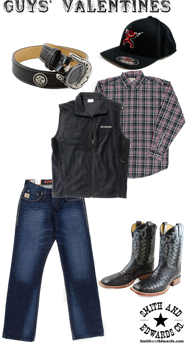 Men's Western Valentine's Outfit